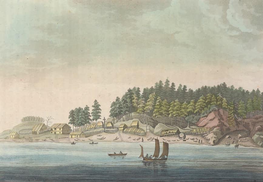 Baie des Amis dans le detroit de Noutka