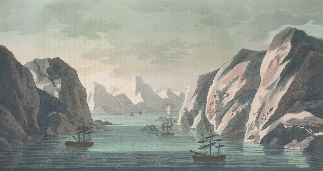 Baie du sud dans le Spitzberg