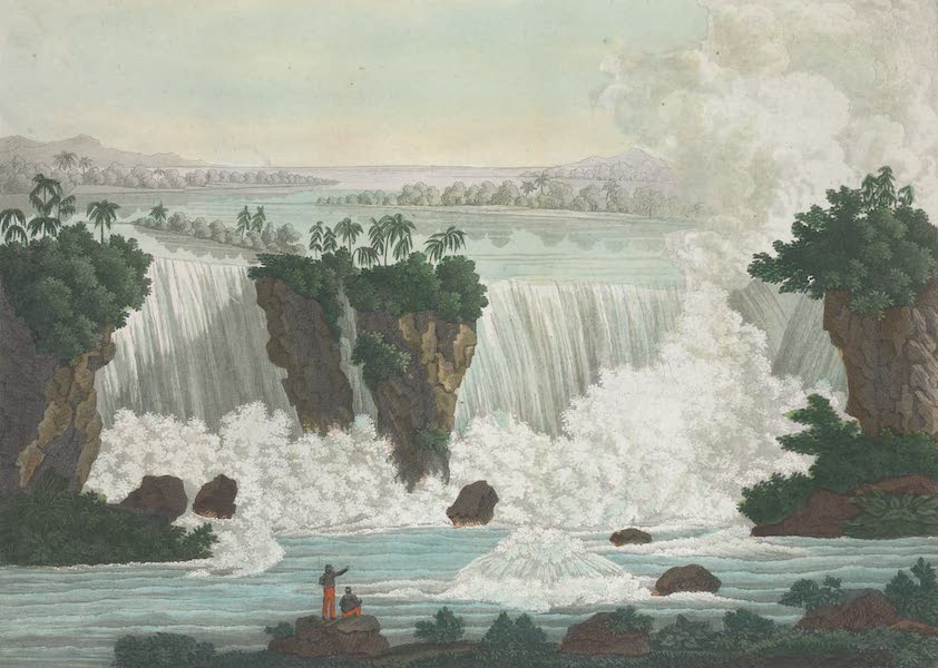 Le Costume Ancien et Moderne [Amerique] Vol. 1 - Vue generale de la cataracte de Niagara (1820)