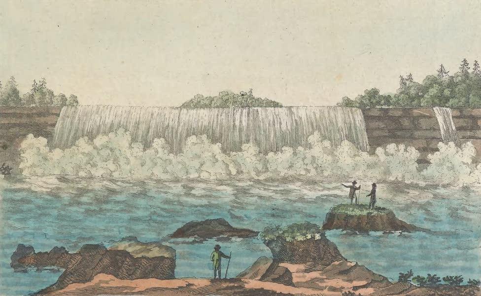 Le Costume Ancien et Moderne [Amerique] Vol. 1 - Vue de la cataracte du fer a cheval etc [II] (1820)