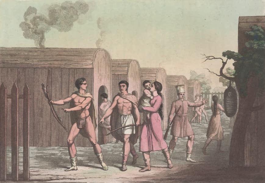 Le Costume Ancien et Moderne [Amerique] Vol. 1 - Habillemens des habitans du Canada No. 1 (1820)