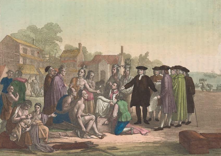 Guillaume Penn jetant les fondemens de Philadelphie