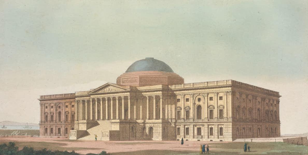 Vue du Capitole dans la ville de Washington