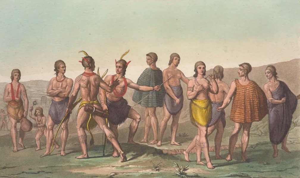 Le Costume Ancien et Moderne [Amerique] Vol. 1 - Indigenes de la Caroline meridionale (1820)