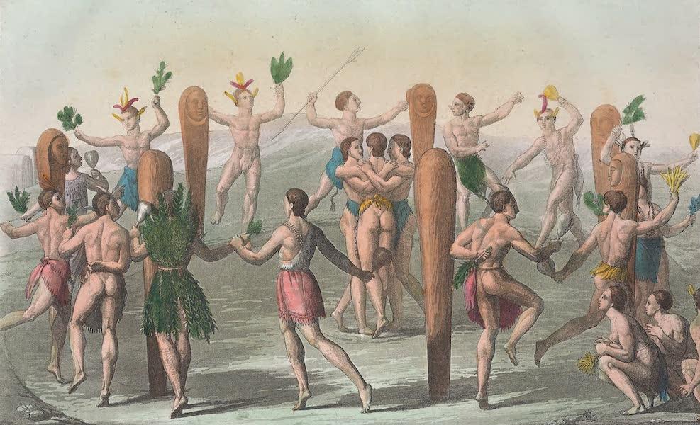 Le Costume Ancien et Moderne [Amerique] Vol. 1 - Leurs danses (1820)