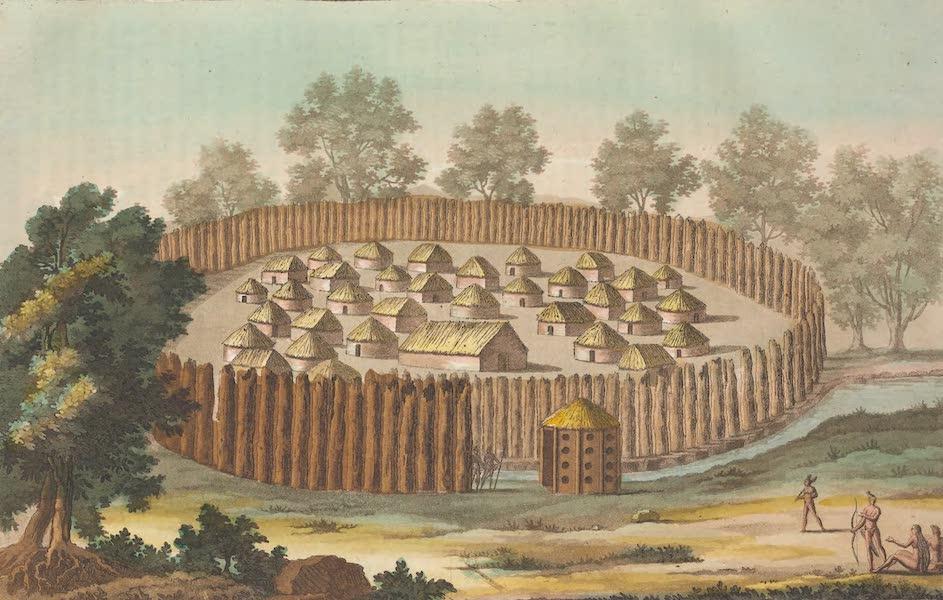 Village des Indiens de la Floride