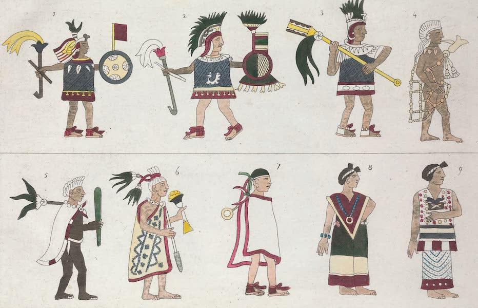 Motezuma II represente dans le Codex anonymus du Vatican