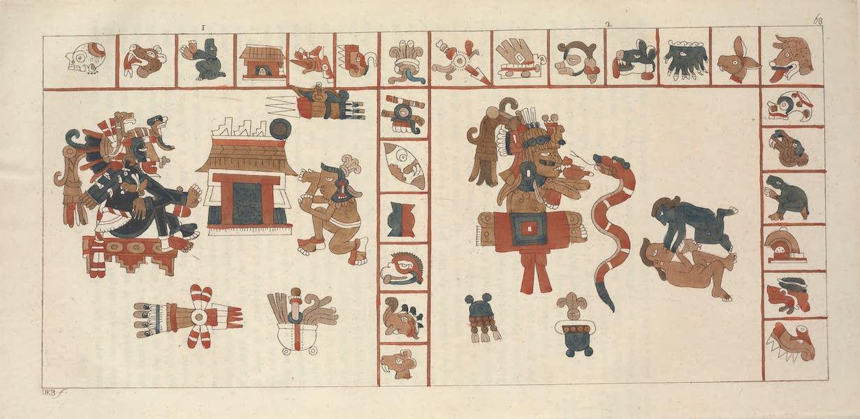 MSS-hieroglyphique representant la Deessee Cihuacohuatl