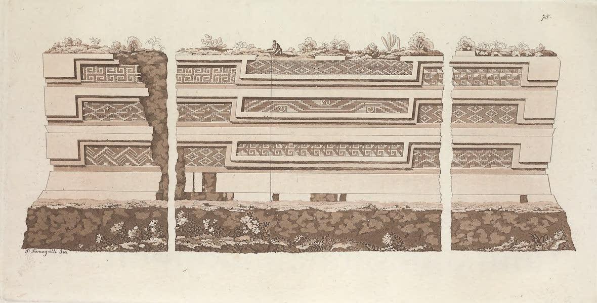 Le Costume Ancien et Moderne [Amerique] Vol. 1 - Les ruines de Miguitlan ou Mitla [II] (1820)