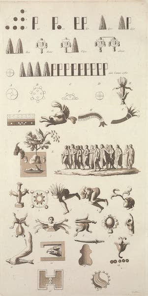 Caracteres numeriques, et figures emblematiques