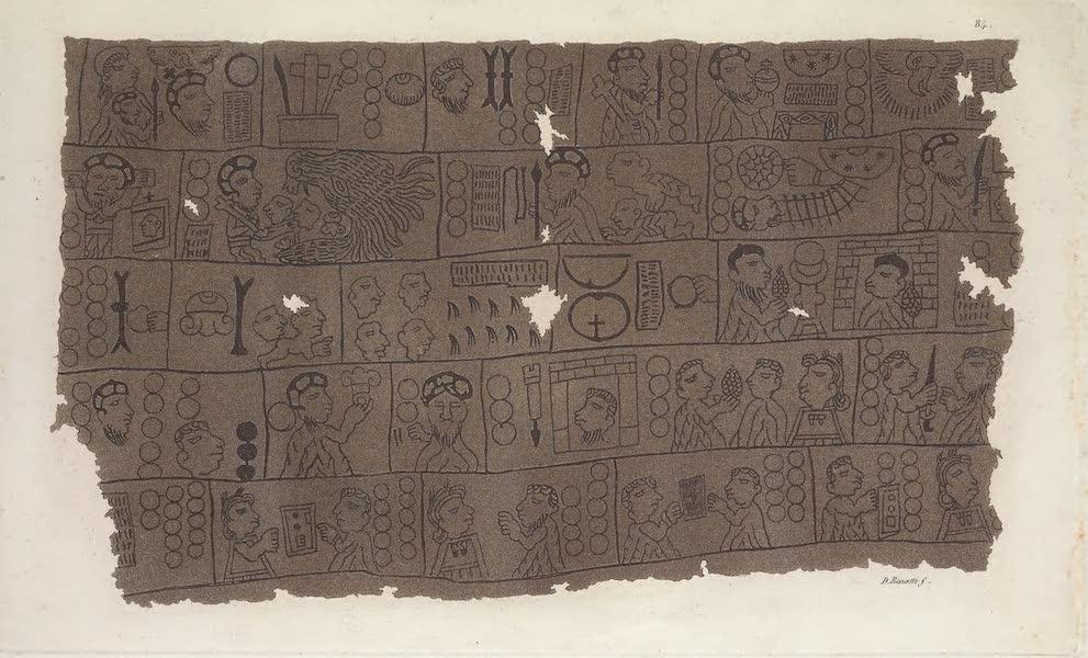 Calendrier hieroglyphique Chretien en stile Azteque