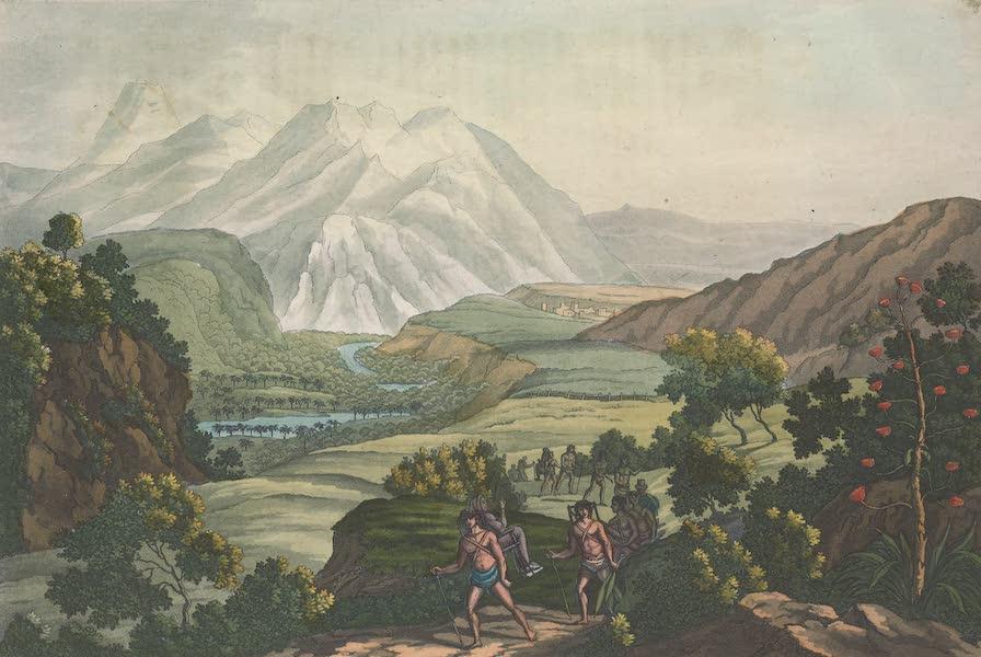 Le Costume Ancien et Moderne [Amerique] Vol. 2 - Passage de la montagne de Quindiu (1821)