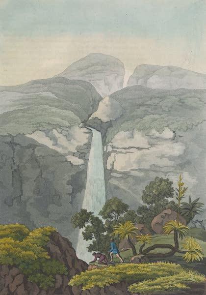 Le Costume Ancien et Moderne [Amerique] Vol. 2 - Cascade de Rio Vinagre (1821)