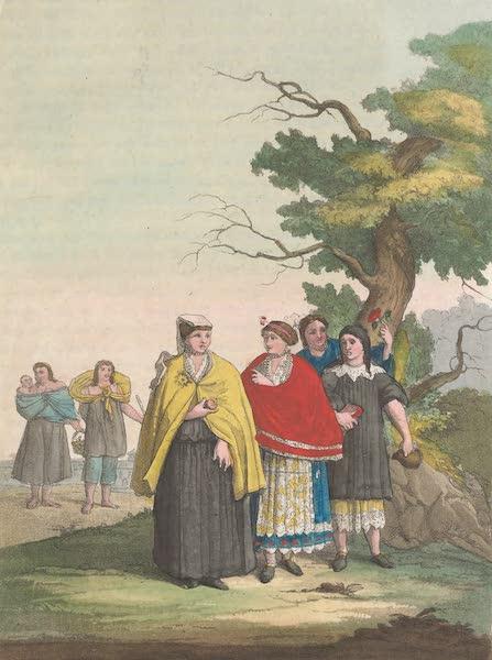 Le Costume Ancien et Moderne [Amerique] Vol. 2 - Les habitans de Quito (1821)