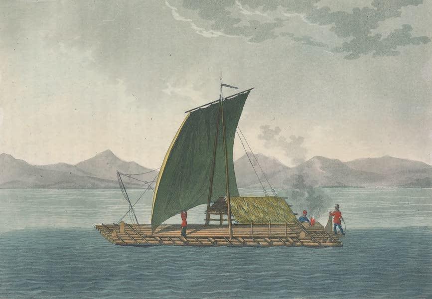 Le Costume Ancien et Moderne [Amerique] Vol. 2 - Radeaux de Guayaquil (1821)