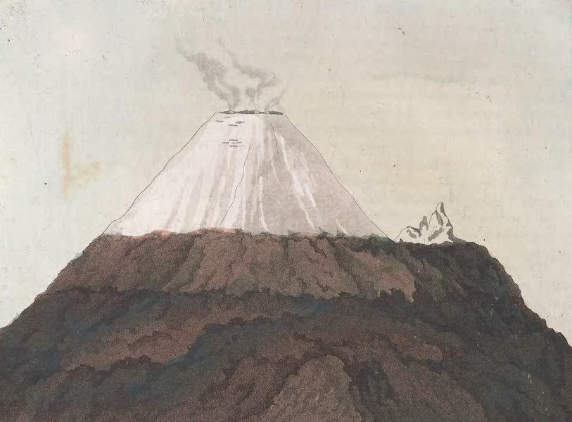Le Costume Ancien et Moderne [Amerique] Vol. 2 - Volcans de Quito - le Pichincha (1821)