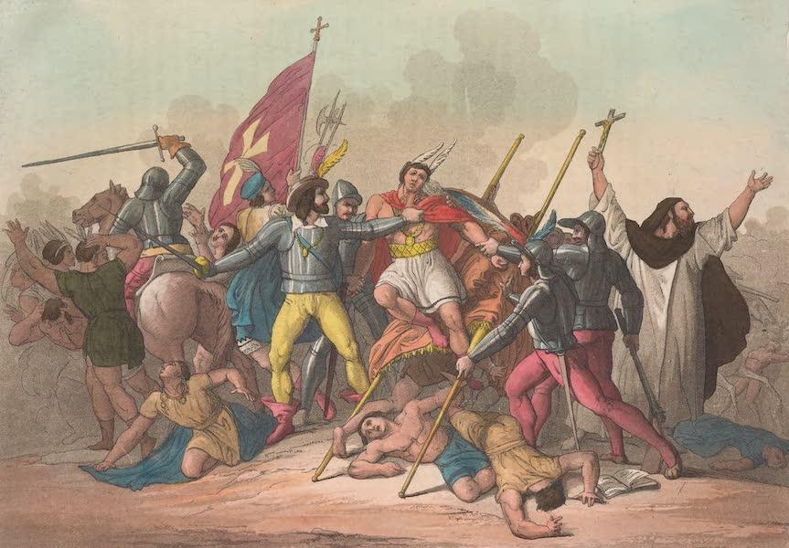 Le Costume Ancien et Moderne [Amerique] Vol. 2 - Atahalipa defait et prisonnier (1821)