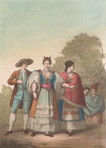 Le Costume Ancien et Moderne [Amerique] Vol. 2 - Les habitans de Lima (1821)