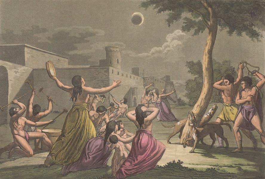 Le Costume Ancien et Moderne [Amerique] Vol. 2 - Desolation des Peruviens durant l'eclipse de la lune (1821)