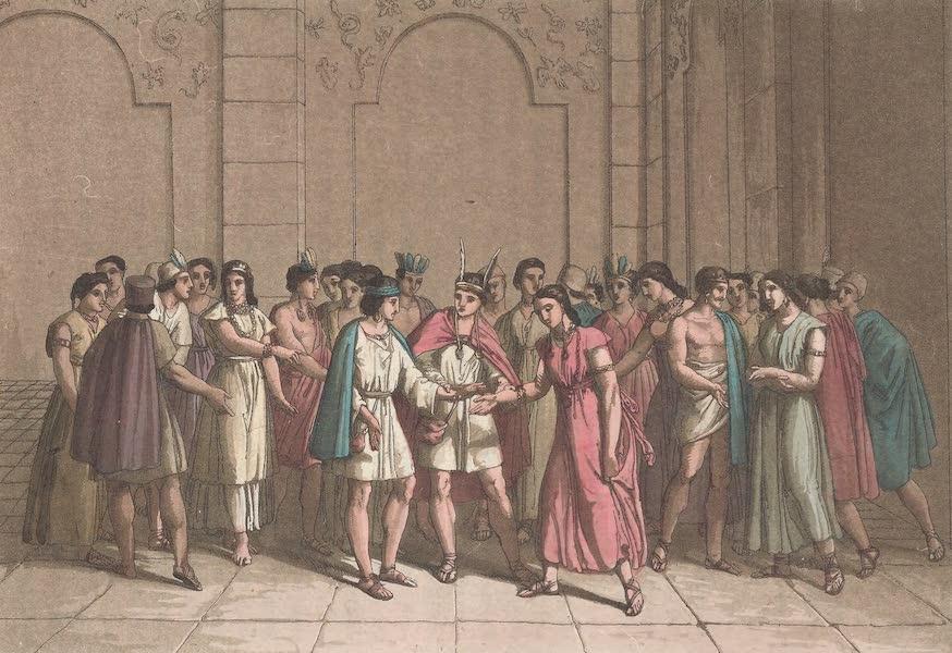 Le Costume Ancien et Moderne [Amerique] Vol. 2 - Maniere dont les Incas mariaient les Princes du sang (1821)