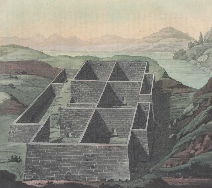 Le Costume Ancien et Moderne [Amerique] Vol. 2 - Palais des Incas appele Callo (1821)