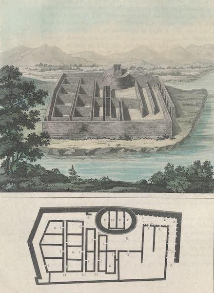 Le Costume Ancien et Moderne [Amerique] Vol. 2 - Palas ou forteresse des Incas pres le village de Cannar (1821)