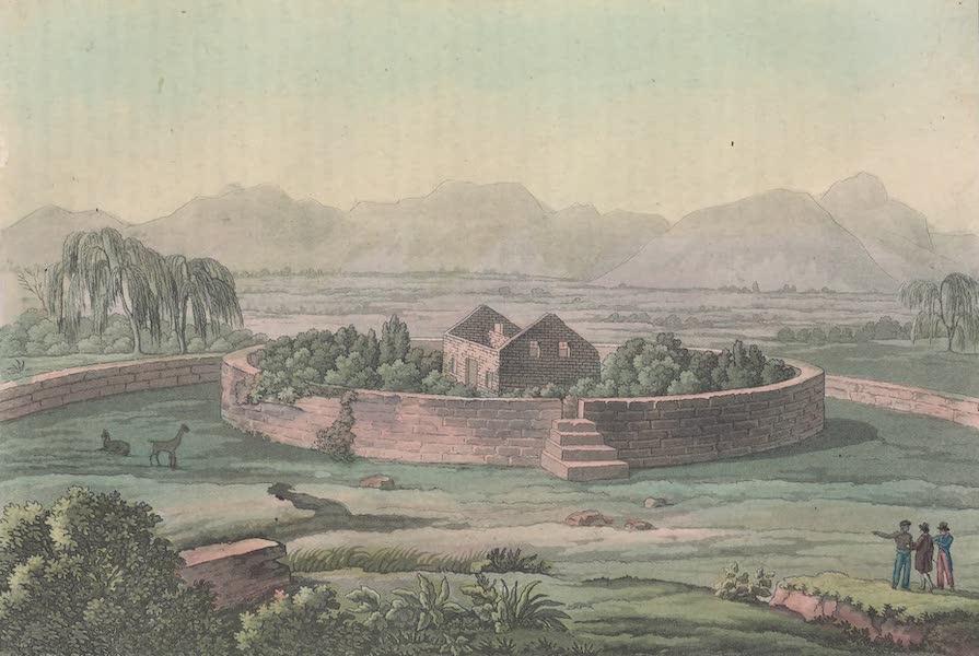 Le Costume Ancien et Moderne [Amerique] Vol. 2 - Forteresse du Cannar d'apres l'Atlas de Humboldt (1821)
