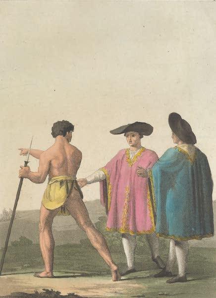 Le Costume Ancien et Moderne [Amerique] Vol. 2 - Habillement des habitans de Santiago (1821)