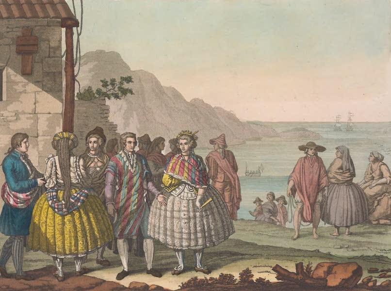 Le Costume Ancien et Moderne [Amerique] Vol. 2 - Habillement des habitans de la Conception (1821)