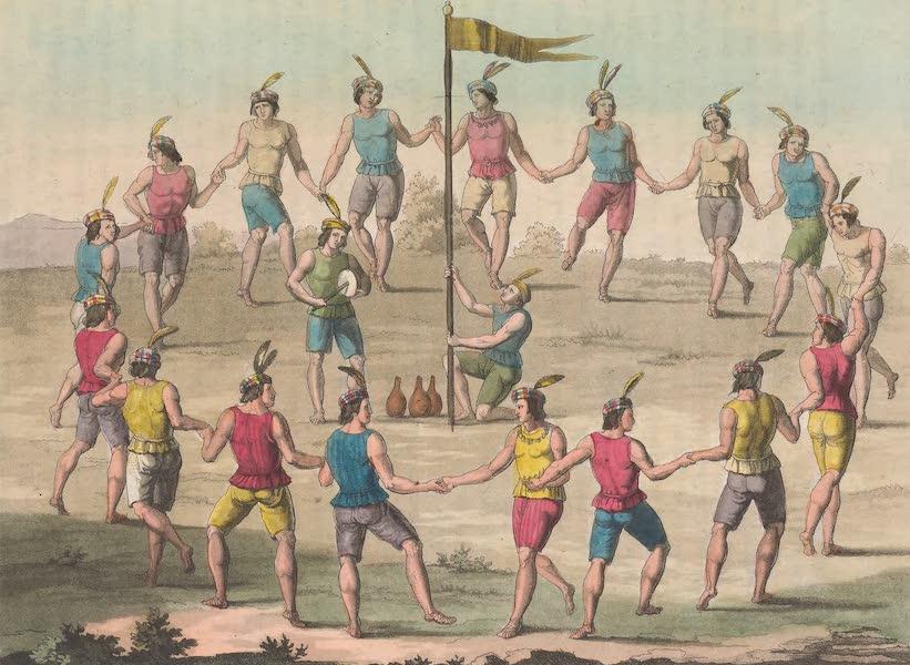 Le Costume Ancien et Moderne [Amerique] Vol. 2 - Danses des Chiliens (1821)