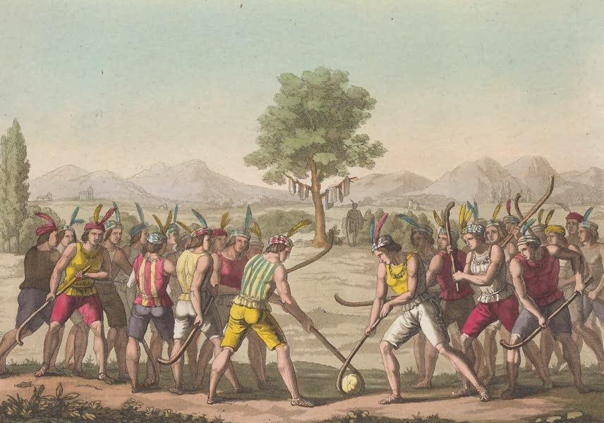 Le Costume Ancien et Moderne [Amerique] Vol. 2 - Jeu de la Ciueca (1821)