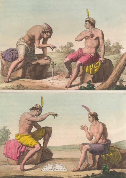 Le Costume Ancien et Moderne [Amerique] Vol. 2 - Jeu de los Porotos etc (1821)