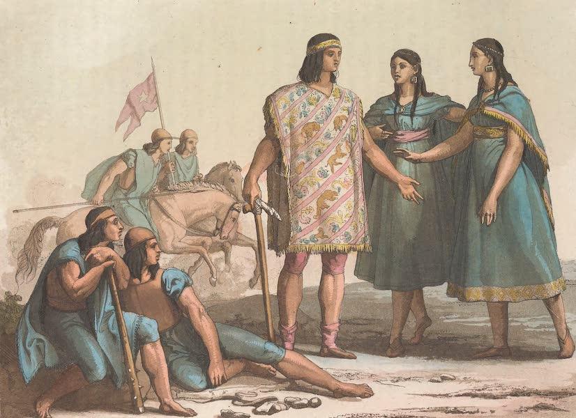 Le Costume Ancien et Moderne [Amerique] Vol. 2 - Les Araucans (1821)