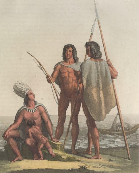 Le Costume Ancien et Moderne [Amerique] Vol. 2 - Les Pechere (1821)