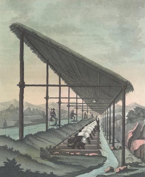 Le Costume Ancien et Moderne [Amerique] Vol. 2 - Lavages des diamans a Madinga (1821)