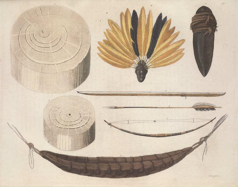 Le Costume Ancien et Moderne [Amerique] Vol. 2 - Ustensiles des Coroados, des Botocudos etc (1821)