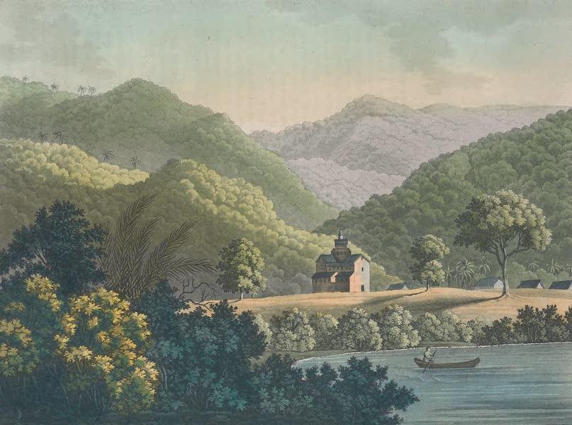 Le Costume Ancien et Moderne [Amerique] Vol. 2 - Vue de la mission de San-Fidelis (1821)
