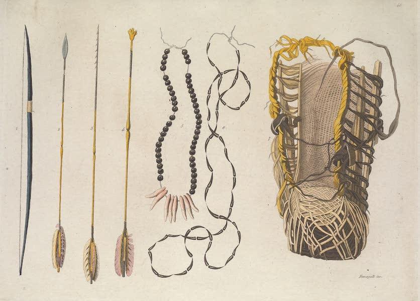 Le Costume Ancien et Moderne [Amerique] Vol. 2 - Armes et Ustensiles des Paris, des Coroados, etc (1821)