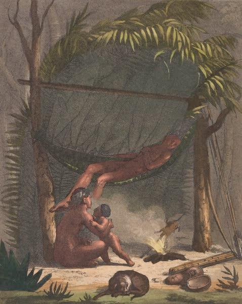 Le Costume Ancien et Moderne [Amerique] Vol. 2 - Cuari ou cabanes des Puris (1821)