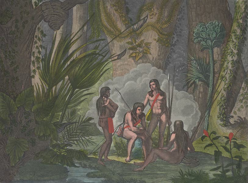 Le Costume Ancien et Moderne [Amerique] Vol. 2 - Les Camacans (1821)