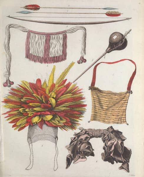 Le Costume Ancien et Moderne [Amerique] Vol. 2 - Ustensiles (1821)