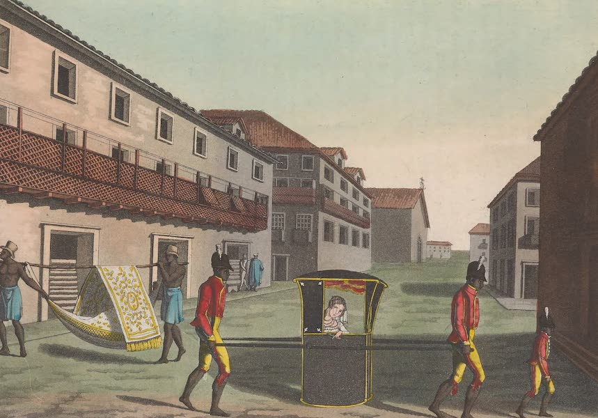 Le Costume Ancien et Moderne [Amerique] Vol. 2 - Rue de St. Sebastien etc (1821)