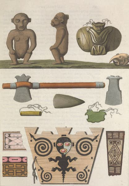 Le Costume Ancien et Moderne [Amerique] Vol. 2 - Idolees des Caribes (1821)