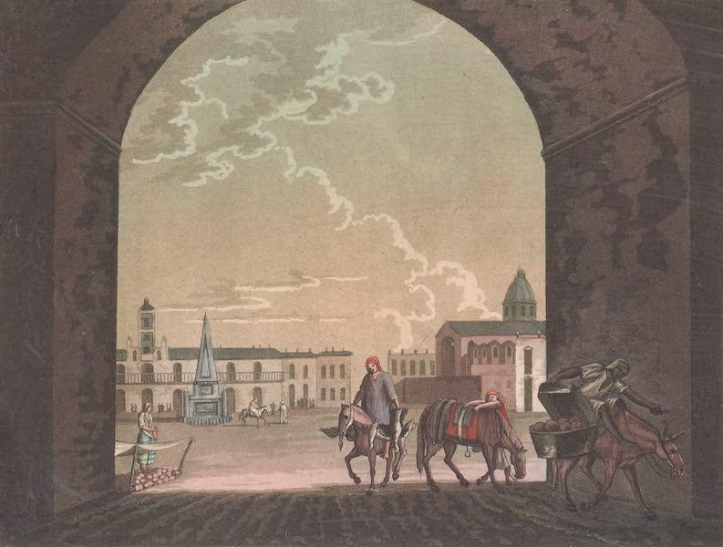 Le Costume Ancien et Moderne [Amerique] Vol. 2 - Place du marche de Buenos-Ayres (1821)