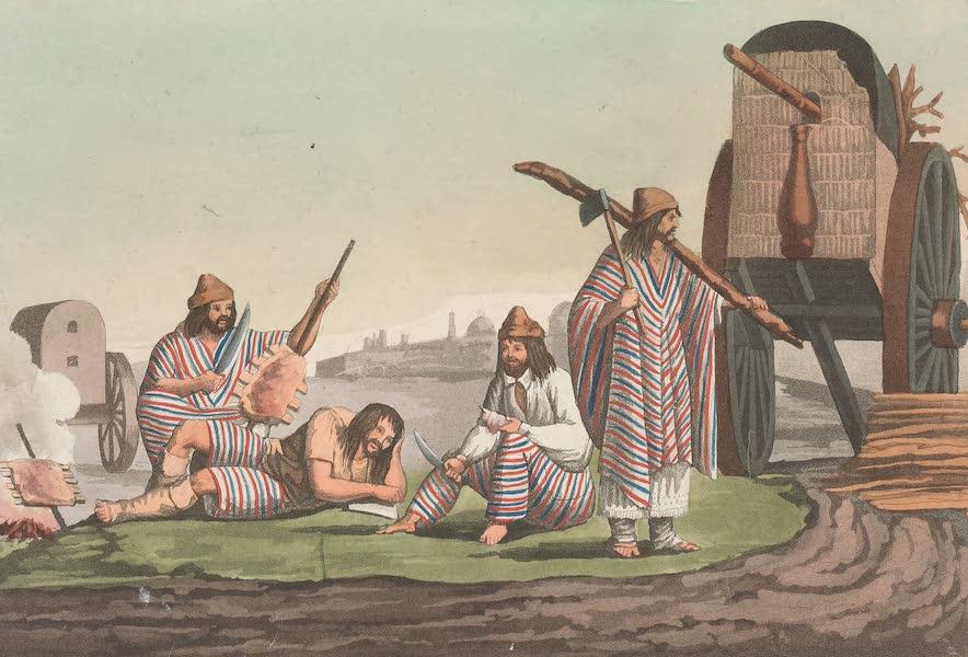 Le Costume Ancien et Moderne [Amerique] Vol. 2 - Les Gaucos de Tucuman (1821)