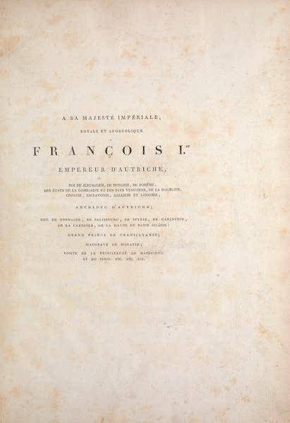 Le Costume Ancien et Moderne [Asie] Vol. 1 - Title Page (1815)