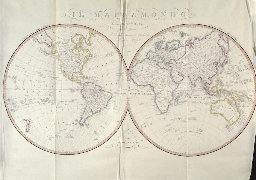 Le Costume Ancien et Moderne [Asie] Vol. 1 - Mappemonde (1815)
