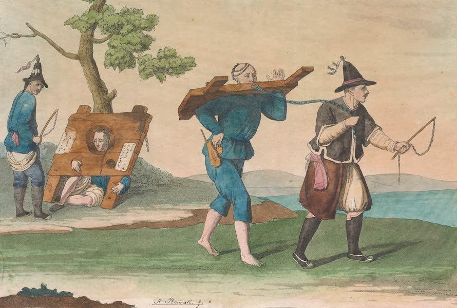 Le Costume Ancien et Moderne [Asie] Vol. 1 - Peine de la Kangue (1815)