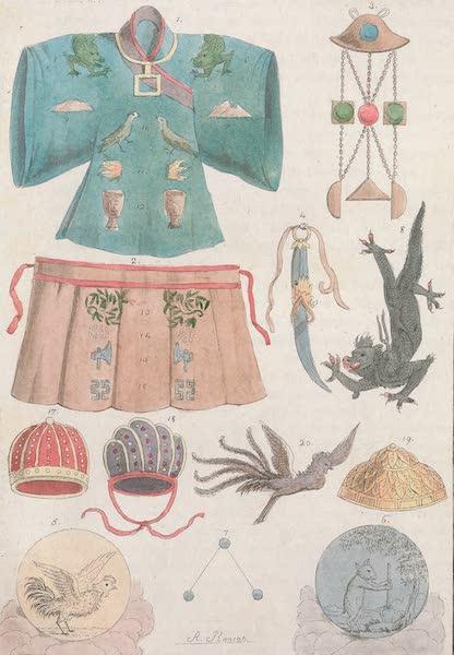Le Costume Ancien et Moderne [Asie] Vol. 1 - Habillement royaux (1815)