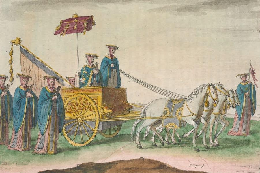 Le Costume Ancien et Moderne [Asie] Vol. 1 - Ancien Empereur dans son char (1815)